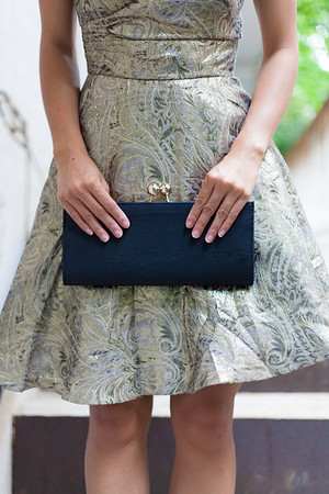 Asian Fashion, Vintage Clutch, Kate Greer, Kate Styled Pretty, ASOS Party Dress