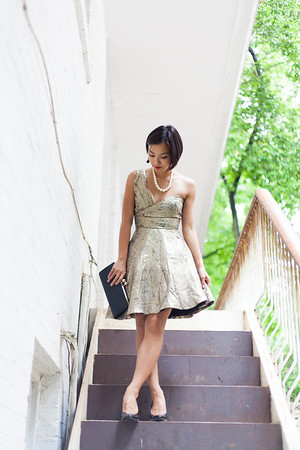 Asian Fashion, Kate Greer, ASOS, Party Dress