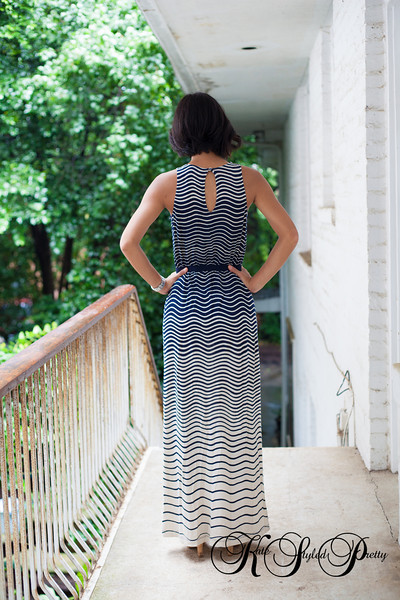 Ann Taylor Loft, Maxi Dress, Kate Styled Pretty, Kate Greer